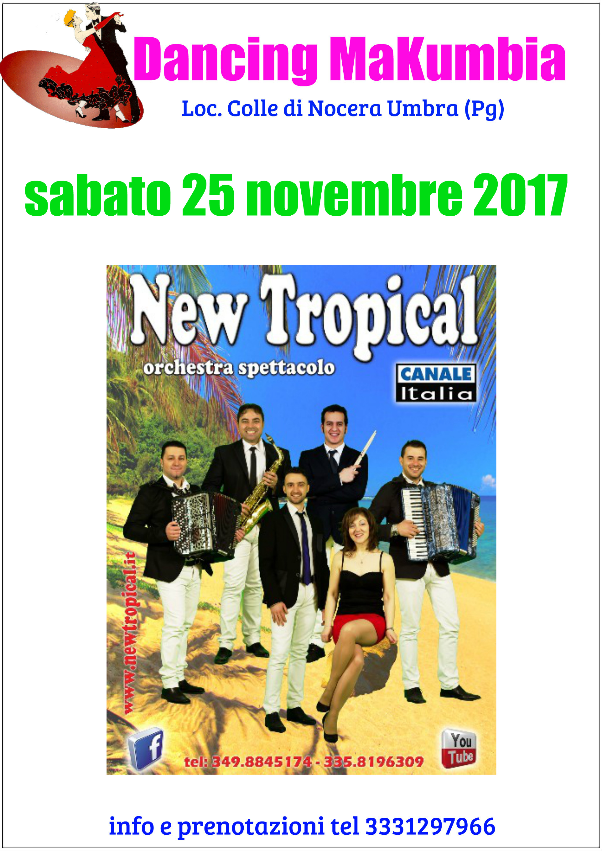 AL MAKUMBIA SI BALLA CON I NEW TROPICAL!!!!